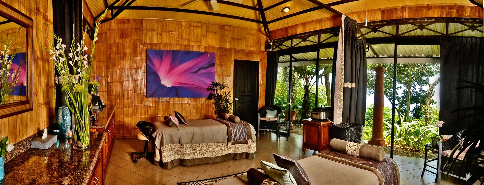 spa at Villa Caletas