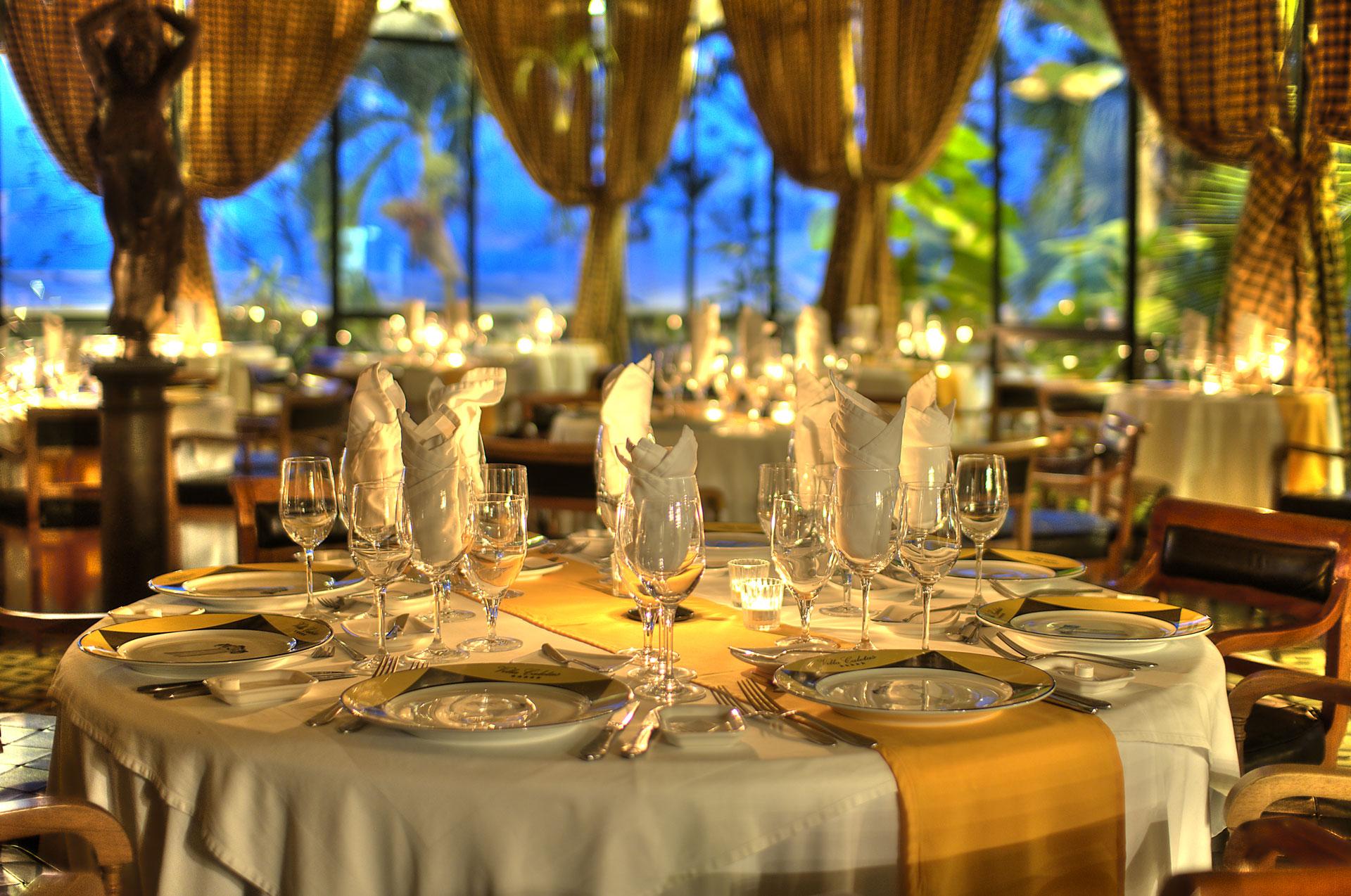 Mirador restaurant villa caletas