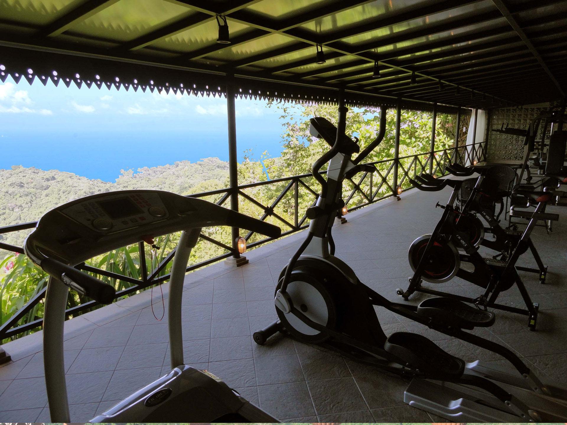 Gym at Villa Caletas
