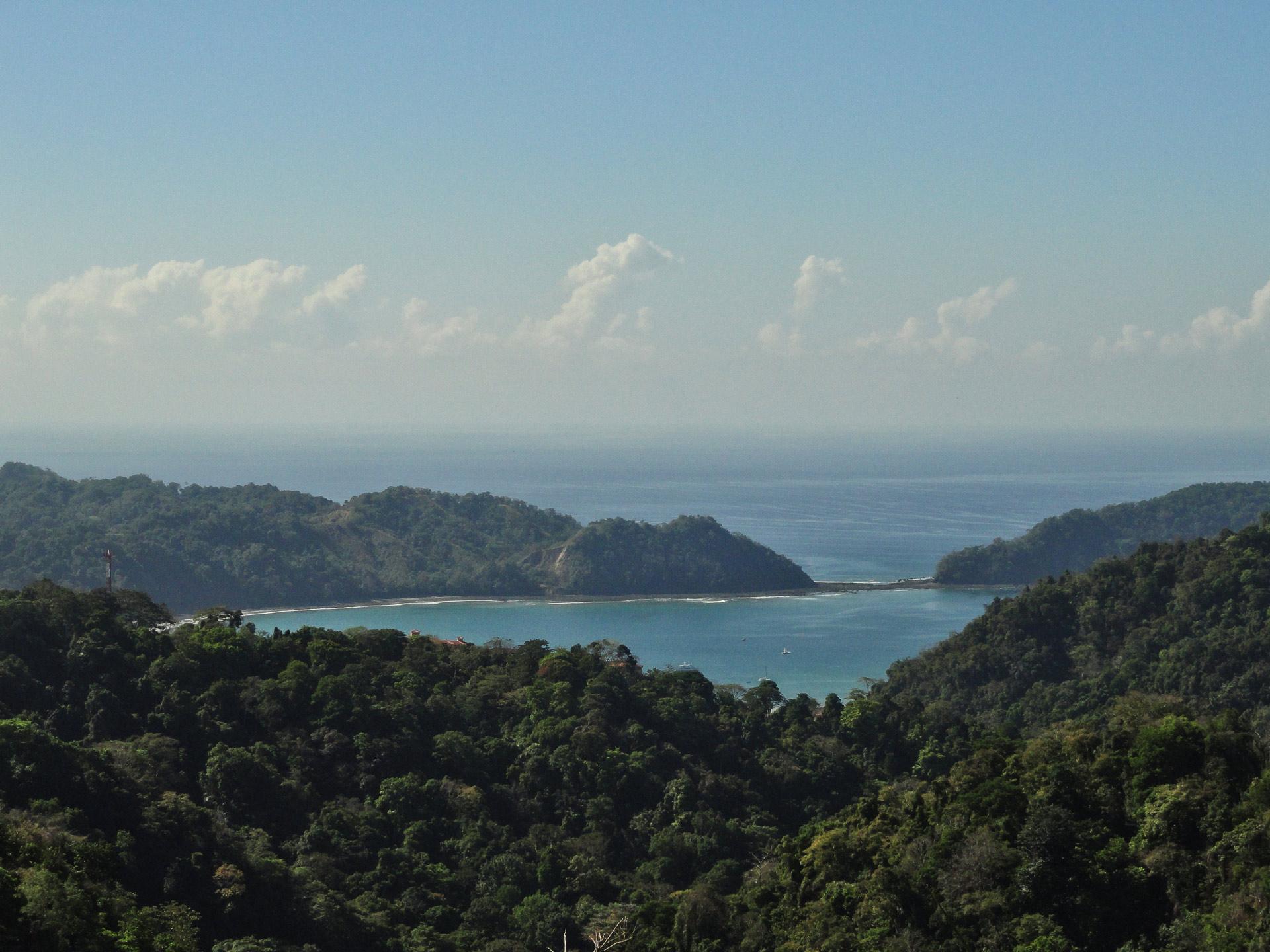 view of herradura bay from junior suite superior at Villa Caletas