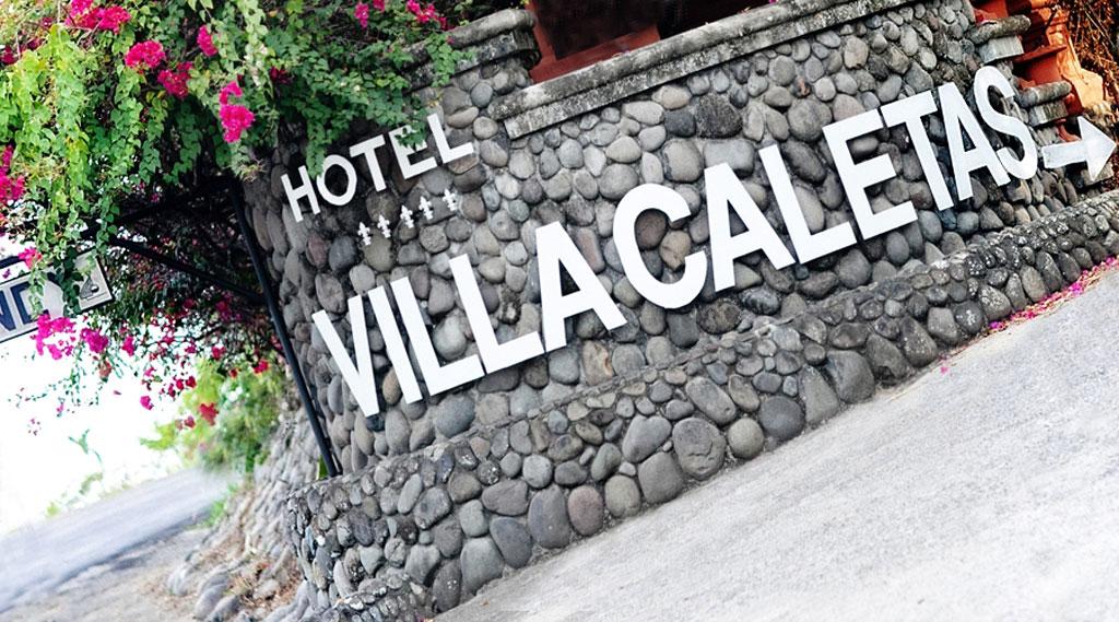 villa caletas access on the main road at hotel villa caletas
