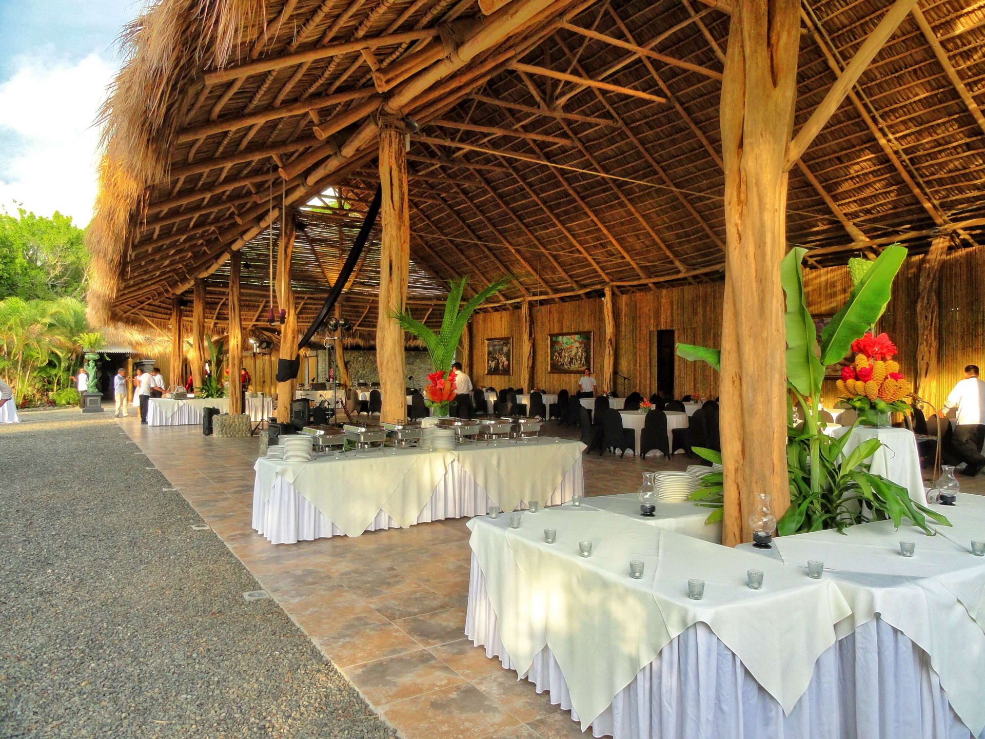 Corporate Dinner at Villa Caletas