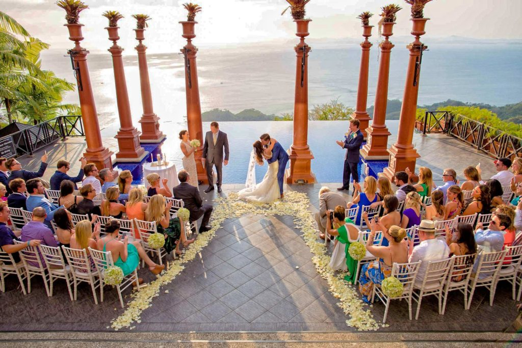wedding at Villa Caletas