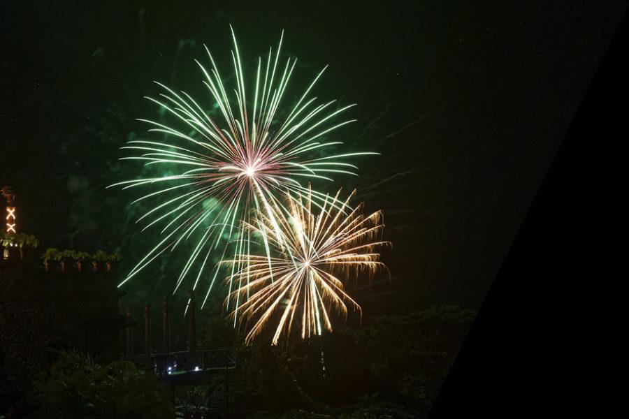 Fireworks at Villa Caletas