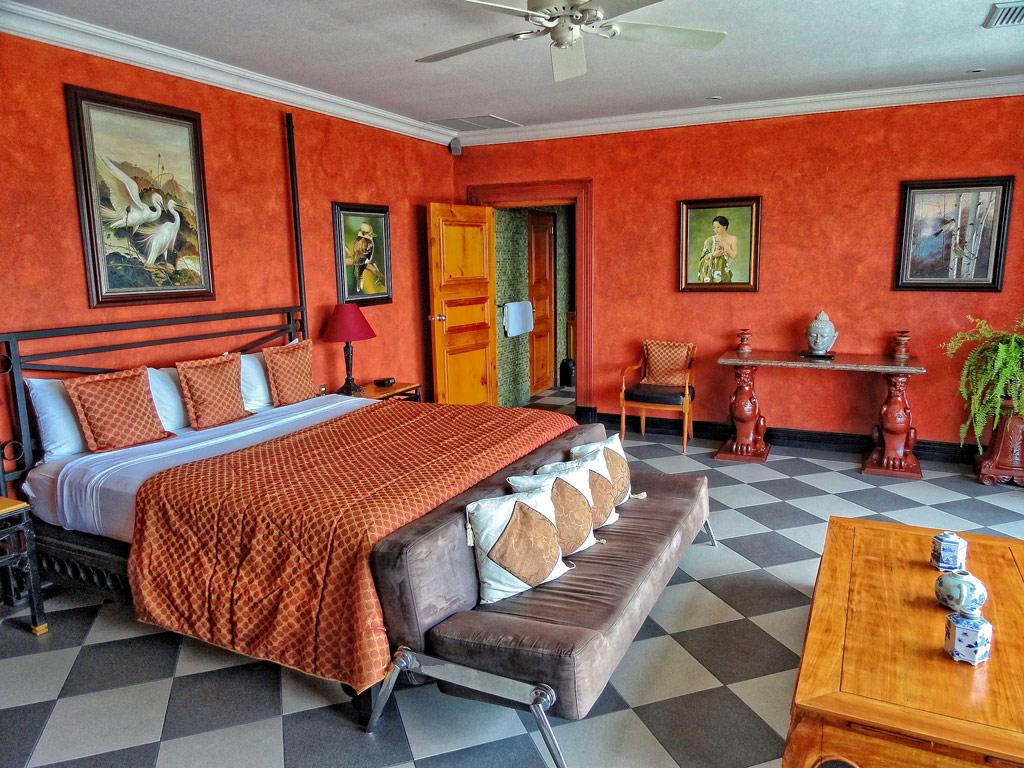 Junior suite superior at Villa Caletas